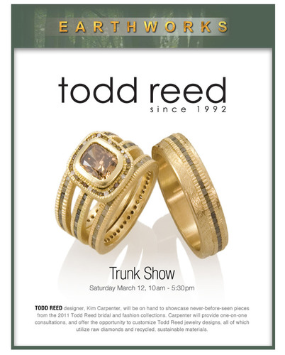 EARTHWORKS' Spring Trunk Show Features the Raw Diamond Jewelry of Todd Reed