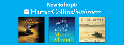 HarperCollins Publishers Signs Digital Audio Distribution Agreement with hoopla digital