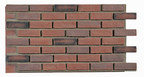 Extraordinarily Realistic Textured Faux Wall Panels For Indoor And Outdoor Use - Tumbled Brick Old World