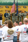 NASCAR fans at NSK-sponsored Salute to Military Fathers.  (PRNewsFoto/NSK Corporation)