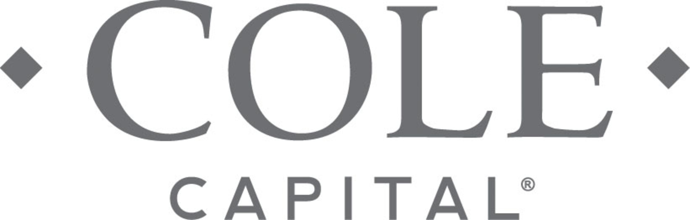 Cole Capital is the investment management business of VEREIT, Inc. As an industry leading non-listed REIT sponsor, Cole Capital creates innovative net lease real estate products that serve individual investors and financial professionals. (PRNewsFoto/Cole Capital)