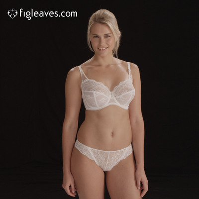 Figleaves.com launches new online fitting room to help women find their perfect bra size.  (PRNewsFoto/Figleaves.com)