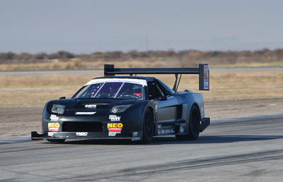 BorgWarner's EFR-9180 (Engineered For Racing) turbocharger boosts the fastest Time Attack vehicle in the United States, the FXMD Acura. Time Attack is a car vs. course event where vehicles compete for the fastest lap, attempting to break course records.  (PRNewsFoto/BorgWarner Inc.)