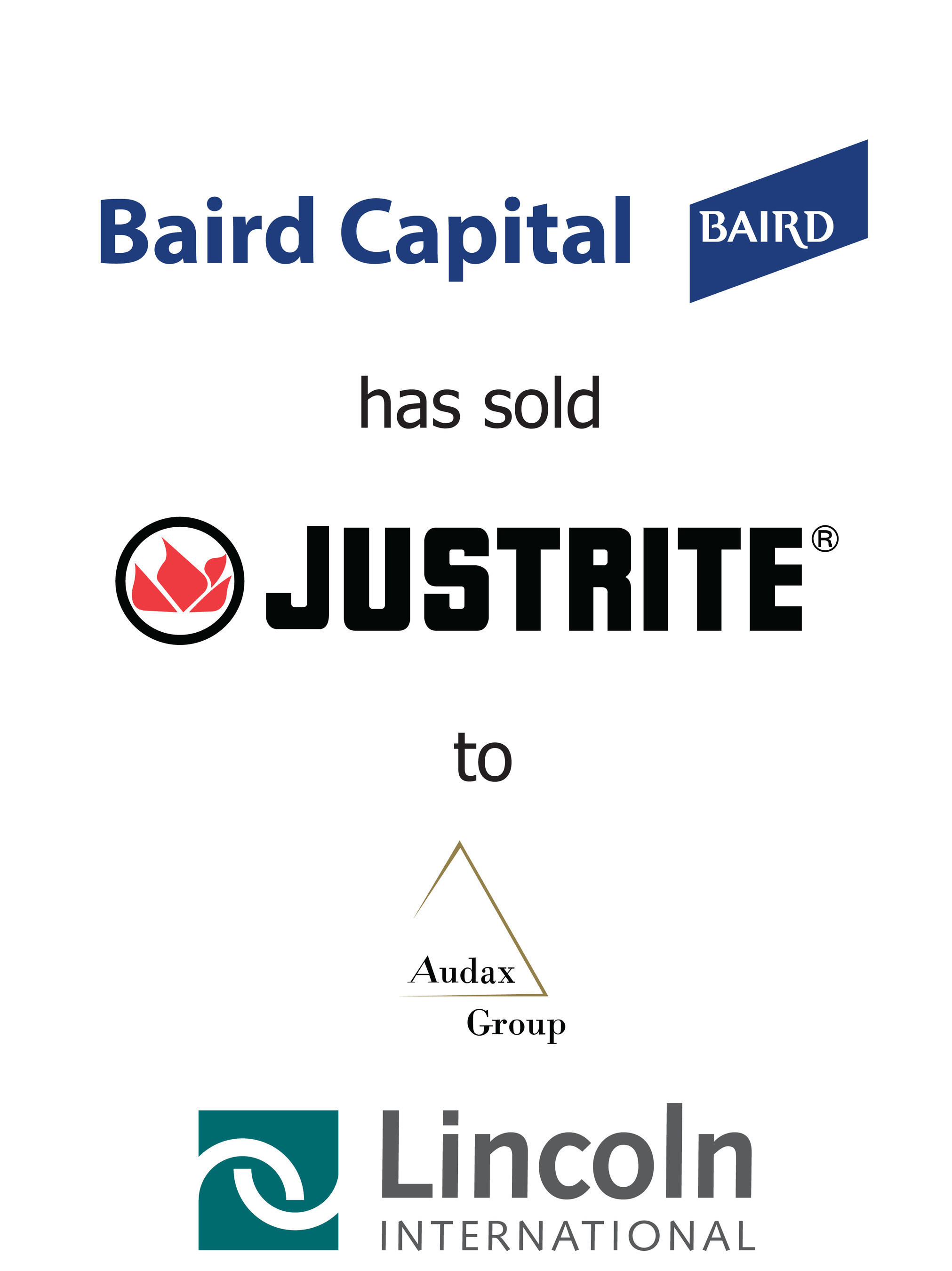 Lincoln International represents Baird Capital in the sale of Justrite to Audax Group