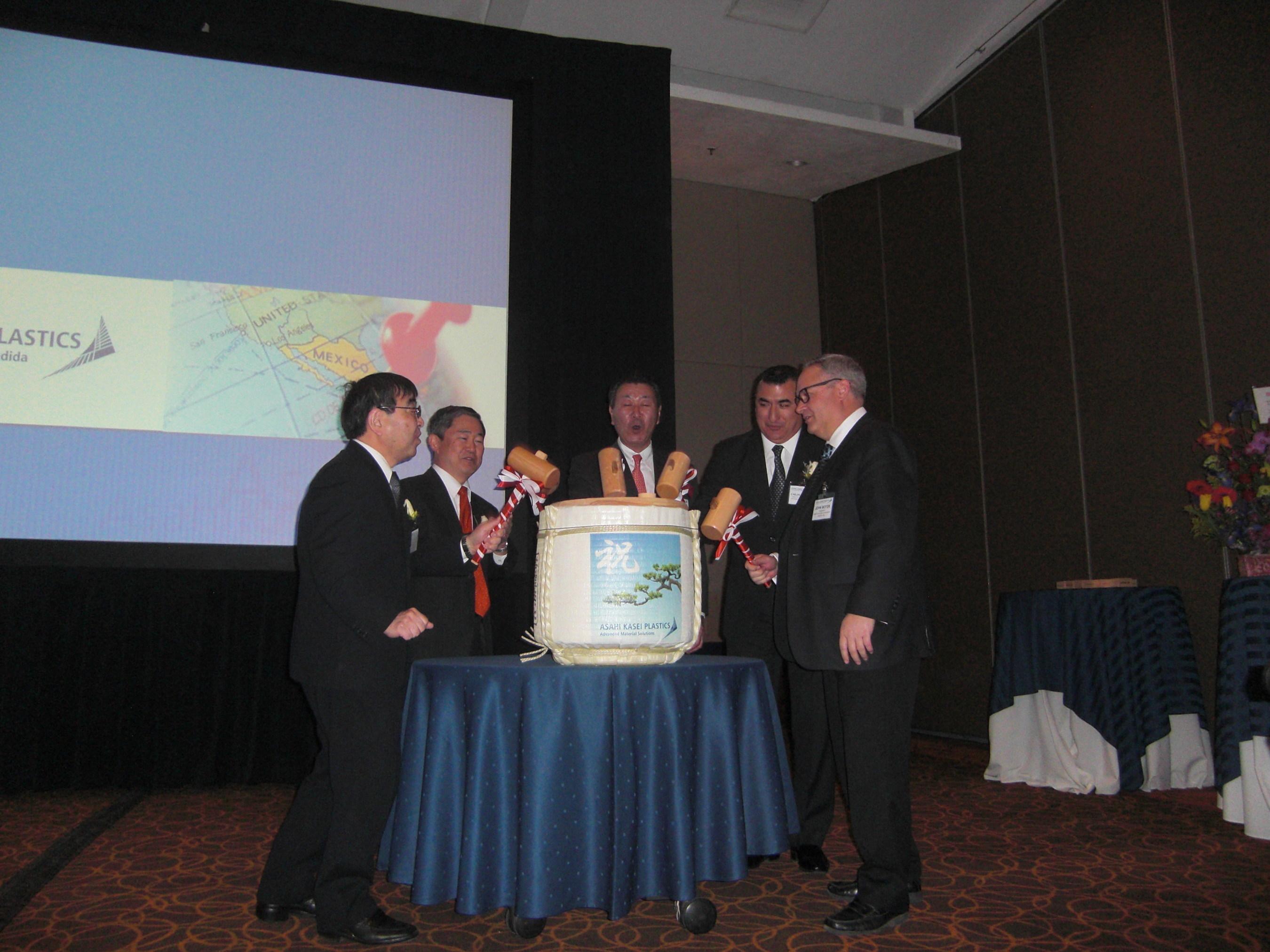 Asahi Kasei Chemicals celebra la apertura de Asahi Kasei Plastics Mexico S.A. de C.V.