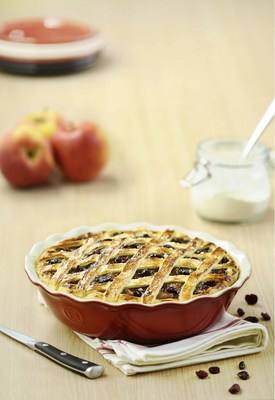 """ Celebrate National Pie Day! To get the best results, bake your pie in an Emile Henry Pie Dish,"" says Linda Hoskins, Executive Director American Pie Council.  ""An Emile Henry pie dish assures that you will be giving a pie that you can be proud of to a loved one, a hometown hero or whoever you would like to honor on National Pie Day."""