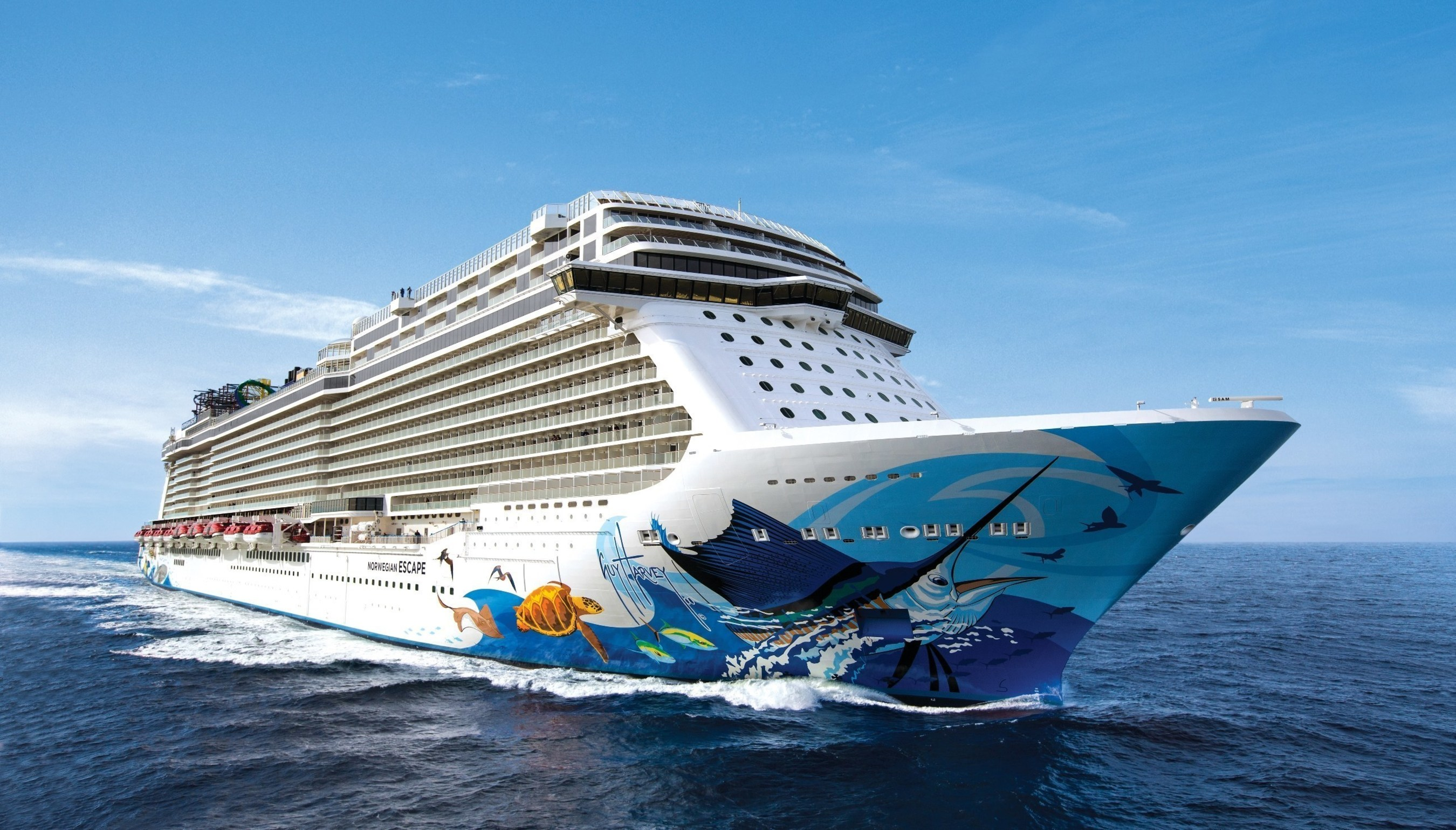 Thanks to EMC, Norwegian Escape broke the record for social media usage at sea during its recent inaugural voyage.