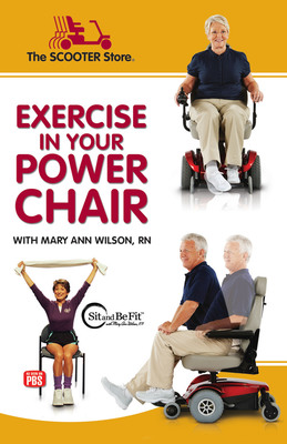 Take better care of yourself in 2013--sitting down! Request your free 32-pg Exercise booklet at: www.exercisebooklet.com.  (PRNewsFoto/The SCOOTER Store)