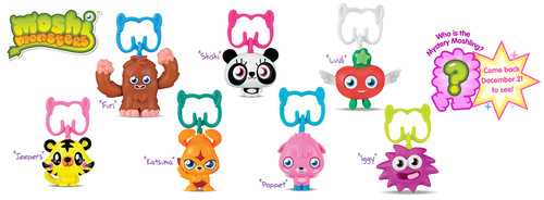 Moshi Monsters™ Happy Meal™ Promotion  Launches In The US