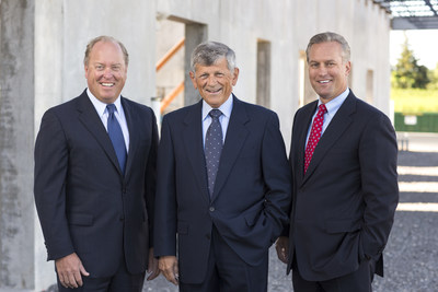 Left to Right: William L. Mack, R. Wayne LeChase, William H. Goodrich of LeChase of Construction Services, LLC