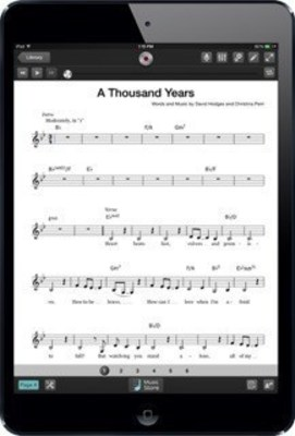 New Sheet Music Direct iPad App Adds Pro Backing Tracks to Digital Sheet Music for More Than 1,000 Popular Songs