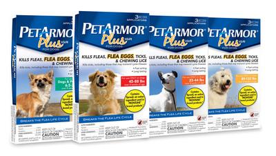 PetArmor Plus IGR for dogs.  (PRNewsFoto/Sergeant's Pet Care Products)