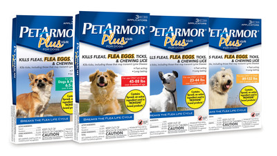 PetArmor Plus IGR for dogs. (PRNewsFoto/Sergeant's Pet Care Products) (PRNewsFoto/SERGEANT'S PET CARE PRODUCTS)