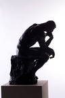 Auguste Rodin, The Thinker, Courtesy of Guardian Stewardship, 19x14x29.  (PRNewsFoto/Monterey Museum of Art)