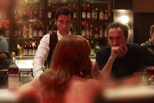 Campari Red Diaries - Behind the Scenes - Clive Owen and Paolo Sorrentino - Ph. F. Pizzo (PRNewsFoto/Gruppo Campari)