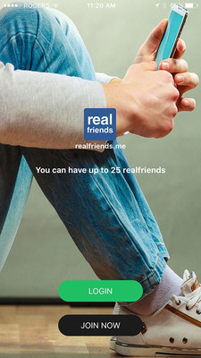 realfriends, you can have up to 25 realfriends. Friendship as it is meant to be.