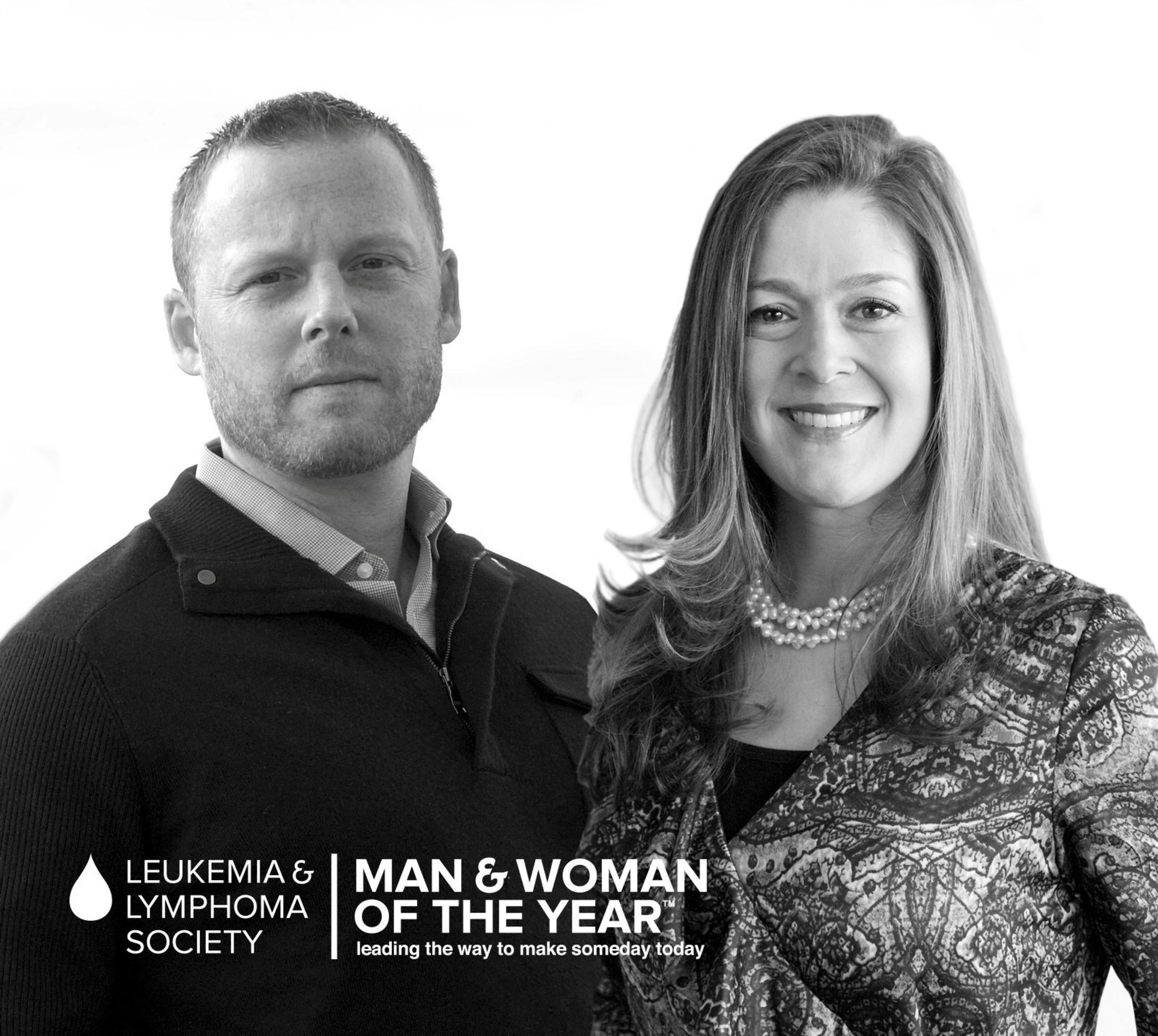 Congratulations to The Leukemia & Lymphoma Society's 2015 National Man & Woman of the Year winners, Jason ...