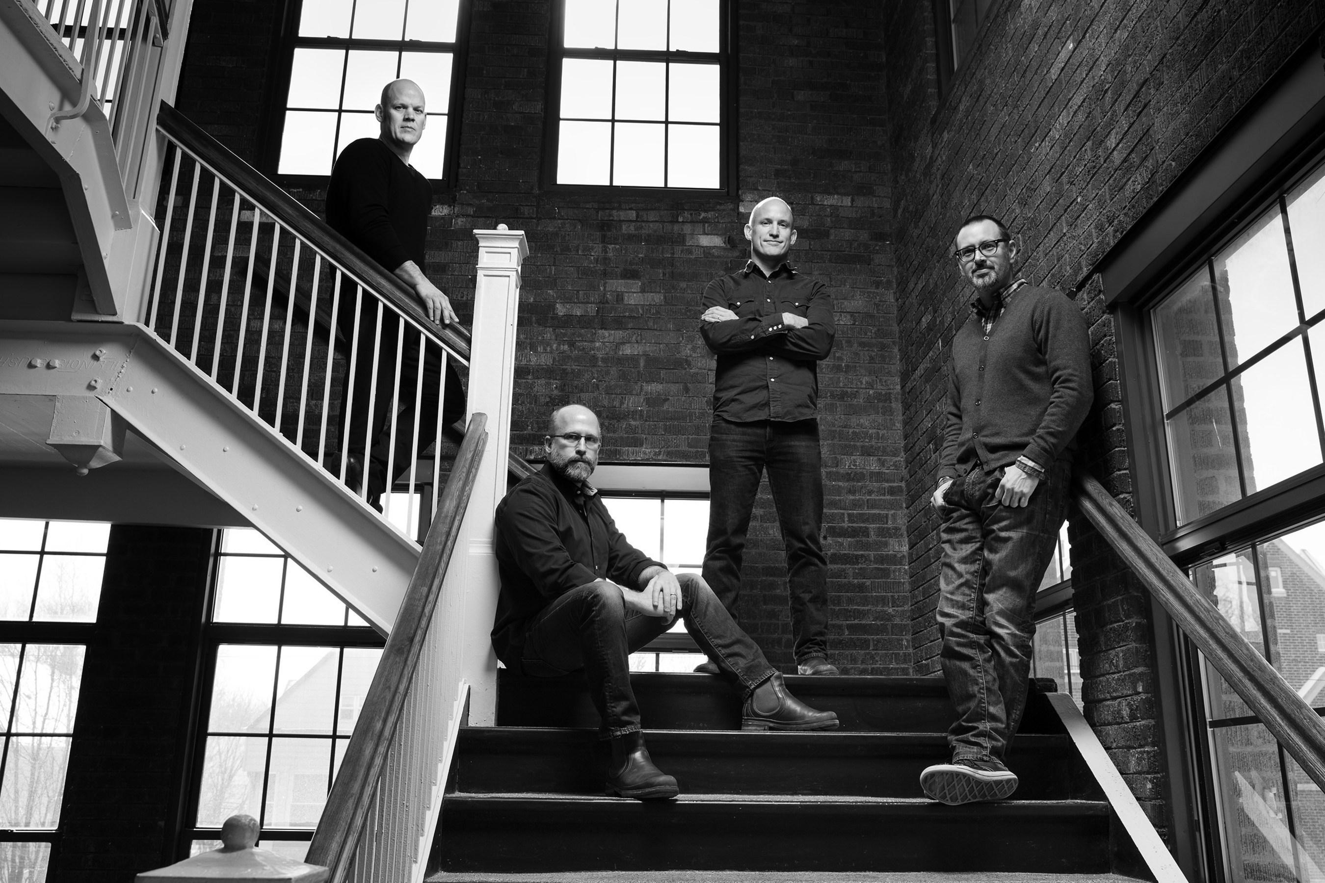 50,000feet Principals (left to right) Mike Petersen, Chris Prescher, Jim Misener and Ken Fox. (PRNewsFoto/50,000feet)