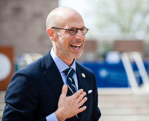 Chancellor-Elect M. Lindsay Bierman of the University of North Carolina School of the Arts (PRNewsFoto/UNC School of the Arts)