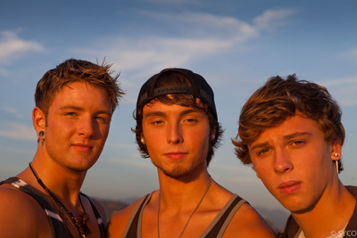 Syco Music & Columbia Records Sign Recording Deal With The X Factor's California Breakout Band Emblem3.  (PRNewsFoto/Columbia Records, Syco)