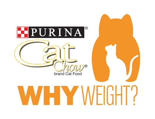 "Take the Purina Cat Chow ""Why Weight?"" pledge and assess your cat's weight today. http://puri.na/1e5aoka #whyweightpledge.  (PRNewsFoto/Purina Cat Chow)"