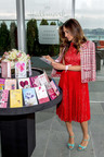 SJP unveils her new fashion line -- Hallmark greeting cards for young, modern women.  (PRNewsFoto/Hallmark Cards)