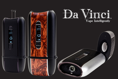 DaVinci Vaporizer Company to Release New Glass-on-Glass Portable Vaporizer on November 1, 2013.  (PRNewsFoto/DaVinci Vaporizer)