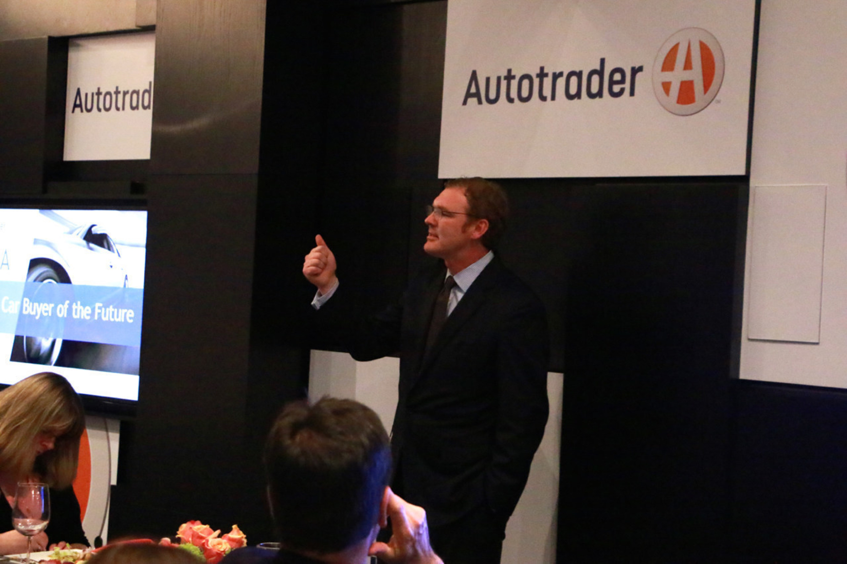 Autotrader President, Jared Rowe, reveals insights from the Autotrader Car Buyer of the Future Study in New York on March 30.