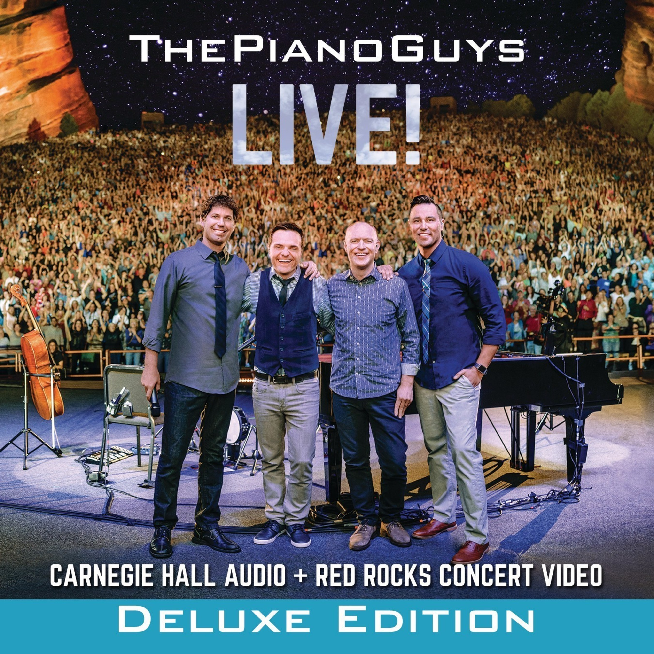 THE PIANO GUYS RELEASE THEIR FIRST LIVE ALBUM Available November 13, 2015