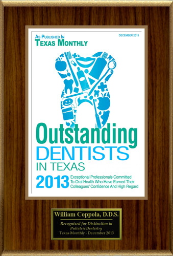 "William Coppola Selected For ""Outstanding Dentists In Texas 2013"". (PRNewsFoto/American Registry) (PRNewsFoto/AMERICAN REGISTRY)"