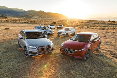 2017 MOTOR TREND's SUV of the Year Finalists