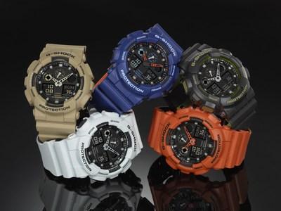 G-SHOCK GA100L Military Color Series