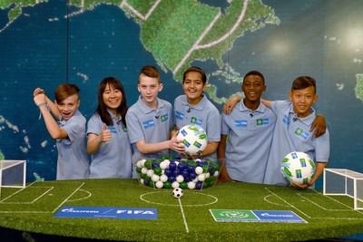 """سوف يجمع برنامج شركة """"غازبروم"""" لكرة القدم من أجل الصداقة 2018 الأطفال من 211 دولة ومنطقة"""