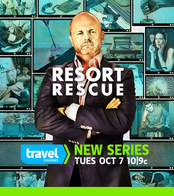 Travel Channel's RESORT RESCUE with Shane Green Premieres Tues, Oct 7 at 10p (PRNewsFoto/Travel Channel)