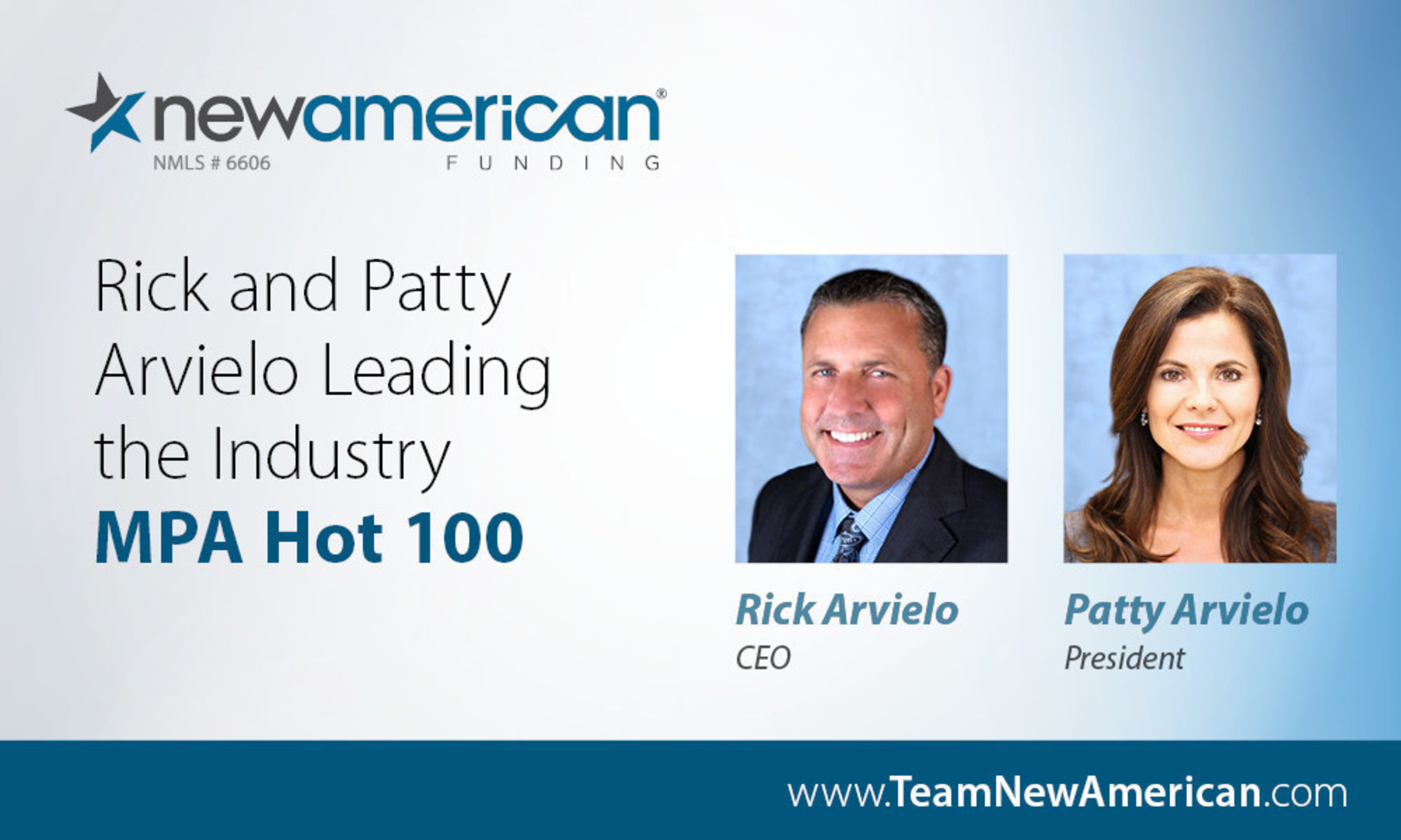 MPA's Hot 100 Recognizes Industry Innovation, Names Rick and Patty Arvielo