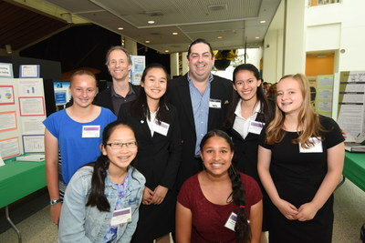 Walter O'Brien at California Science Center speaks on STEM topics at student science competition