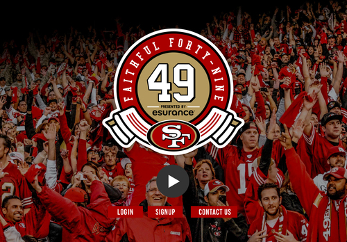 Faithful 49 Presented by Esurance (PRNewsFoto/Esurance)