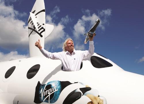 Richard Branson has said that aviation entrepreneur Sir Freddie Laker was instrumental in helping him to shape his career (PRNewsFoto/Vision.ae)