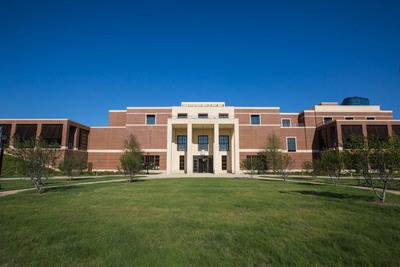 Entrance to the George W. Bush Institute, Dallas, Texas. Photo courtesy of the George W. Bush Presidential Center.  (PRNewsFoto/The George W. Bush Institute)