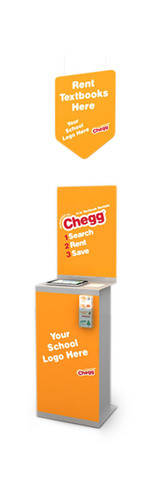 Powered by Chegg Rental Stand. (PRNewsFoto/Chegg.com)
