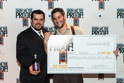 """Louis Royer Cognac Announces Grand Prize Winner of Its 4th """"Show Me the Proof!"""" High Proof Cognac Cocktail Competition: Gregory Buda (The Dead Rabbit, NYC)."""