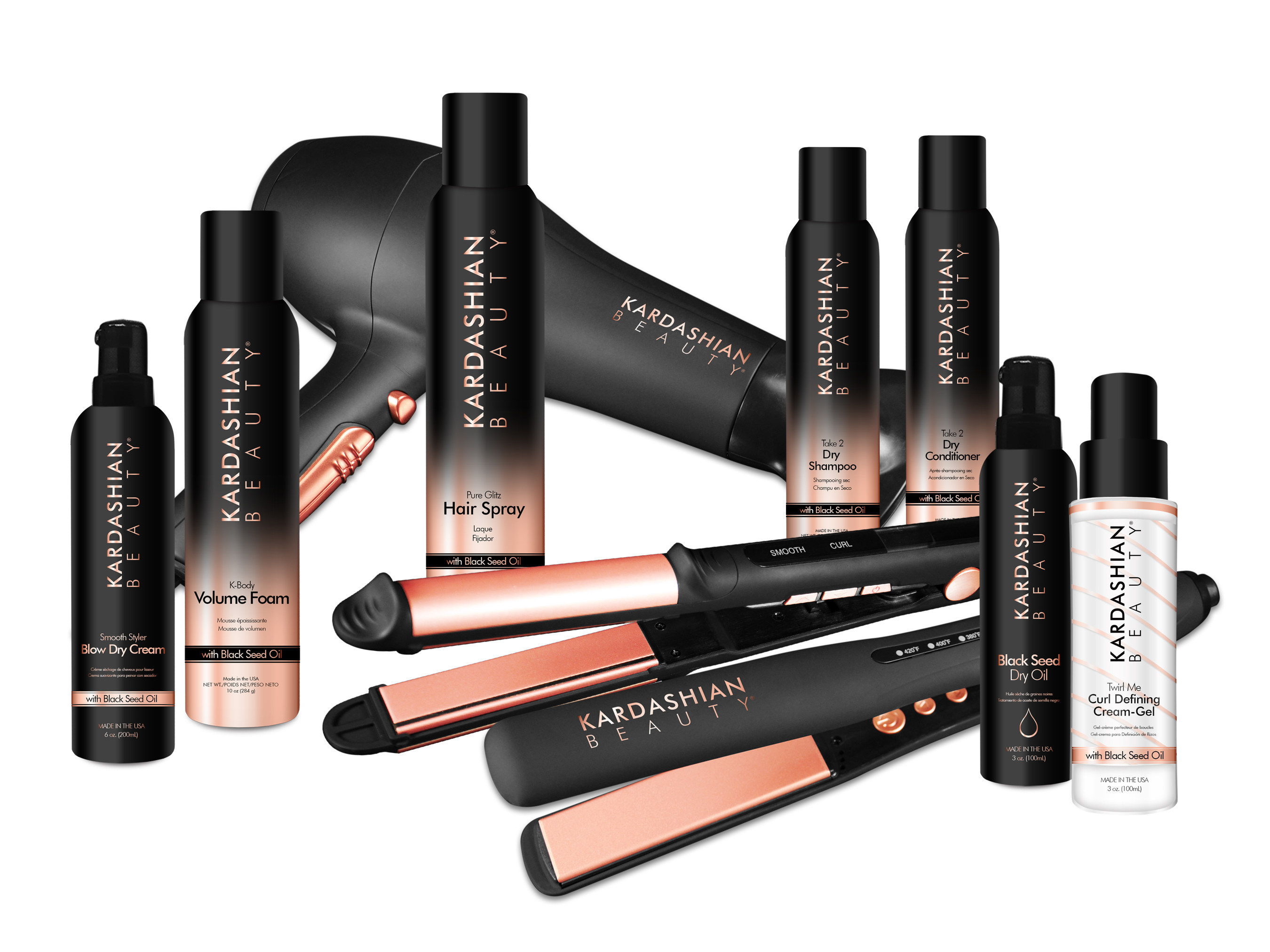 Kardashian Beauty, courtesy of Farouk Systems, Inc. (PRNewsFoto/Farouk Systems, Inc.)