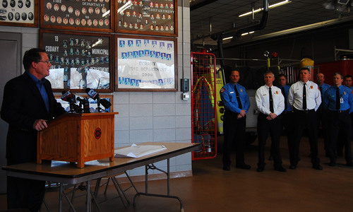 Smithfield Foods, John Morrell, Patrick Cudahy Donate $50,000 to Cudahy Fire Department for New