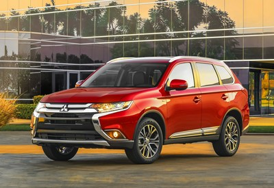 The 2016 Mitsubishi Outlander has a $200 less starting MSRP than the previous model year at $22,995.
