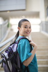 When a student wears her backpack the right way, she will be much more comfortable and avoid injuries.
