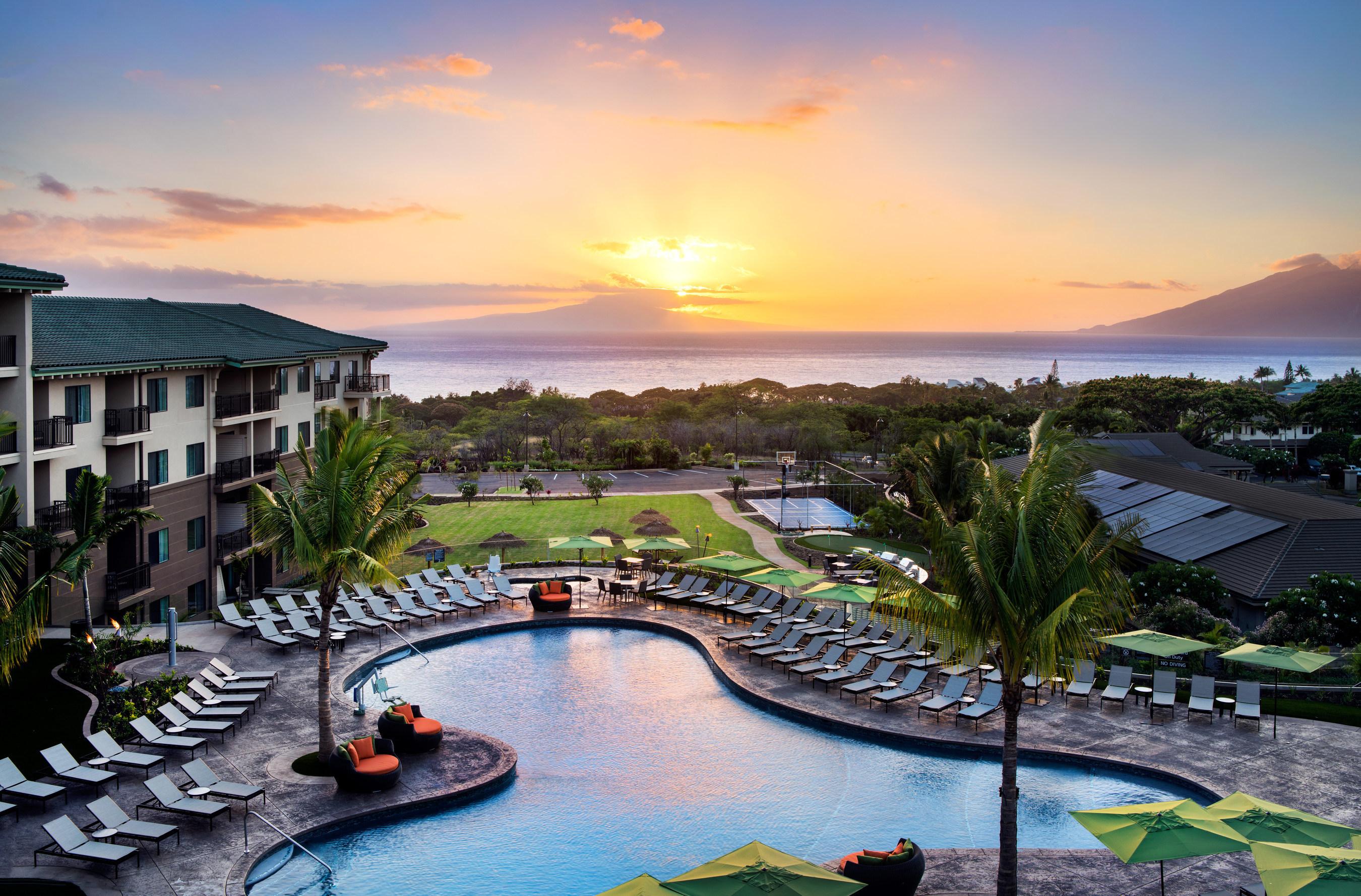 Residence Inn by Marriott Makes Its Aloha Debut in Luxurious Wailea, Hawaii