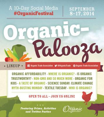 Organic-Palooza open to all (PRNewsFoto/Organic Trade Association)