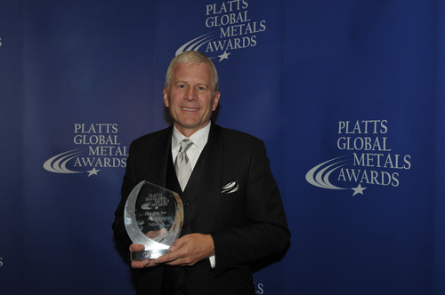 Novelis, the world leader in aluminum rolling and recycling, was named Metals Company of the Year at the inaugural Platts Global Metals Awards ceremony held on May 23 in London.  Novelis President and Chief Executive Officer Philip Martens, pictured, was also named CEO of the Year.  (PRNewsFoto/Novelis Inc.)