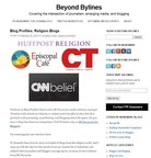 The Beyond Bylines blog covers the intersection of journalism, emerging media, and blogging