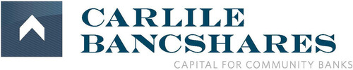 Capital for Community Banks www.carlilebancshares.com.  (PRNewsFoto/Carlile Bancshares, Inc.)